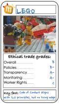ftt trump LEGO card