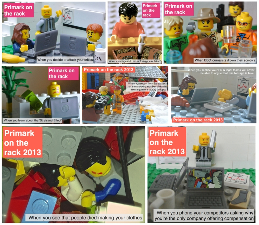 Primark on the rack Lego comic